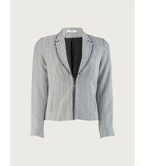 blazer con solapa para mujer 13009