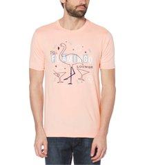 original penguin men's flamingo lounge graphic t-shirt