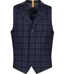gilet ruit donkerblauw blue industry