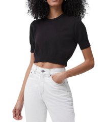 french connection margo cropped sweater