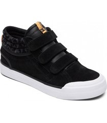 zapatilla evan hi v se high-top negro dc