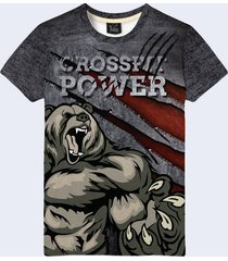 2017 cross fit russian bear power russia 3d simbol sign t-shirt new. fashionab