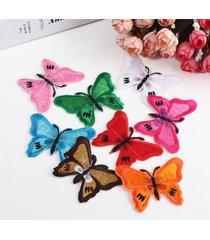 farfalla ricamata applique ferro su cucire su patch cucito fai da te vestiti arredamento
