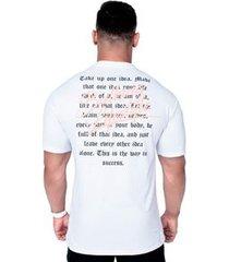 camiseta way branca