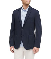 blazer azul navy banana republic