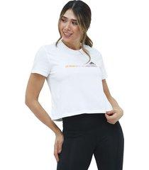 camiseta gradient cropped adidas