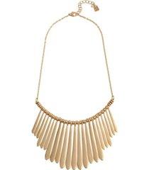 robert lee morris soho stick fringe statement necklace