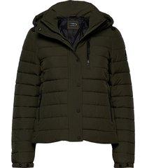 classic fuji padded jacket fodrad jacka grön superdry