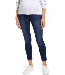 1822 denim re: denim ripped ankle skinny maternity jeans, size 30 in marco at nordstrom