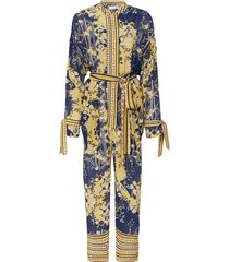 navy and yellow lima jumpsuit