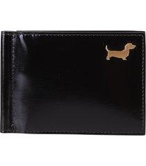 thom browne black wallet
