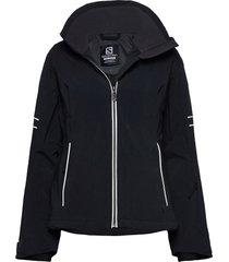 the brilliant jacket w outerwear sport jackets svart salomon