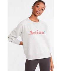 lou & grey prinkshop x for herproject action sweatshirt