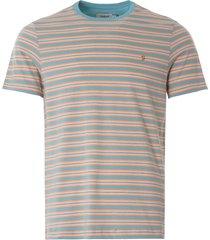 farah alginet t-shirt | reef green | f4ksb009-337