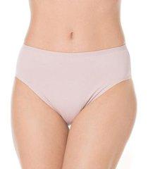 liz calcinha cintura alta reforçada feminina - feminino