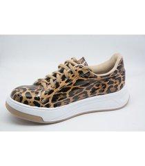 zapatilla animal print somos prana sneakers urbana