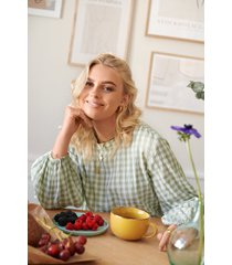 louise madsen x na-kd blus - multicolor