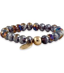 pulsera de perlas amatista buckley london
