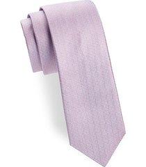 two-tone diamond silk tie