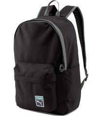 mochila negra puma backpack retro