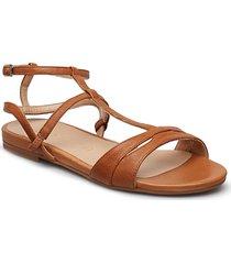 calais_sty shoes summer shoes flat sandals brun unisa
