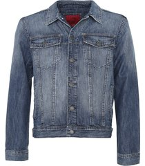 jaqueta jeans ellus estonada azul - kanui