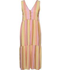 nucamellia dress knälång klänning rosa nümph