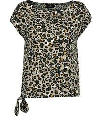 t-shirt leopard print