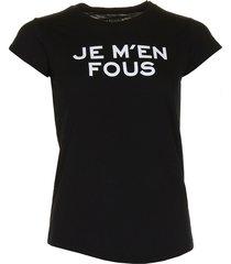 zadig & voltaire t-shirt skinny jmf zwart