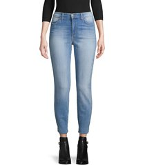 l'agence women's faded slim-fit jeans - lake blue - size 28 (4-6)