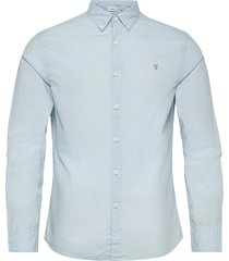 farley slm ls bd skjorta casual blå farah