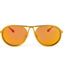 gafas invicta eyewear modelo i 23077-s1r-09 dorado hombre