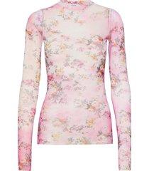 blusa/blouse blus långärmad rosa msgm