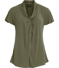 object 23032913 tia tia top burnt olive groen