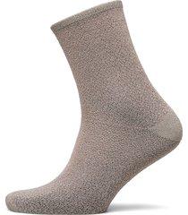 dina animal sock lingerie socks regular socks grå becksöndergaard