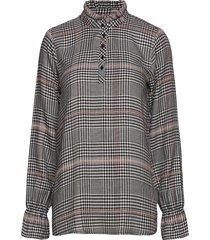 sc-boston långärmad skjorta multi/mönstrad soyaconcept
