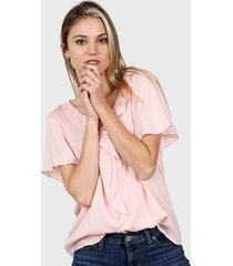 blusa rosa etam aruba