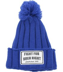 gorro azul fight for your right