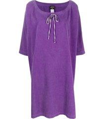 jean paul gaultier pre-owned 1990s kaftan dress - purple