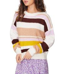 women's lost + wander rockaway stripe sweater