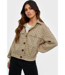 co'couture new rosalie check jacket övriga jackor