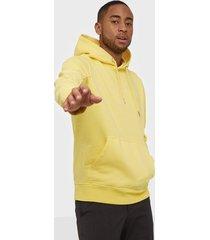 calvin klein jeans instit chest logo reg hoodie tröjor mimosa