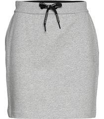 branded drawcord ski kort kjol grå calvin klein jeans