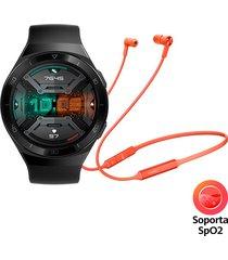 reloj huawei gt 2e 46mm + audífonos freelace