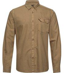 barbour st bower shi skjorta casual brun barbour