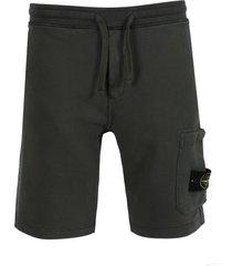 fleece cotton sweat shorts