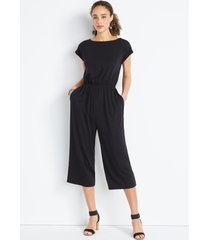 maurices womens 24/7 solid french terry reversible jumpsuit