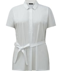 alfani tie-waist shirt, created for macy's