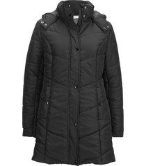 giacca trapuntata in poliestere riciclato (nero) - bpc bonprix collection