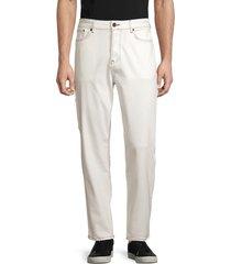 french connection men's carpenter jeans - ecru - size 38